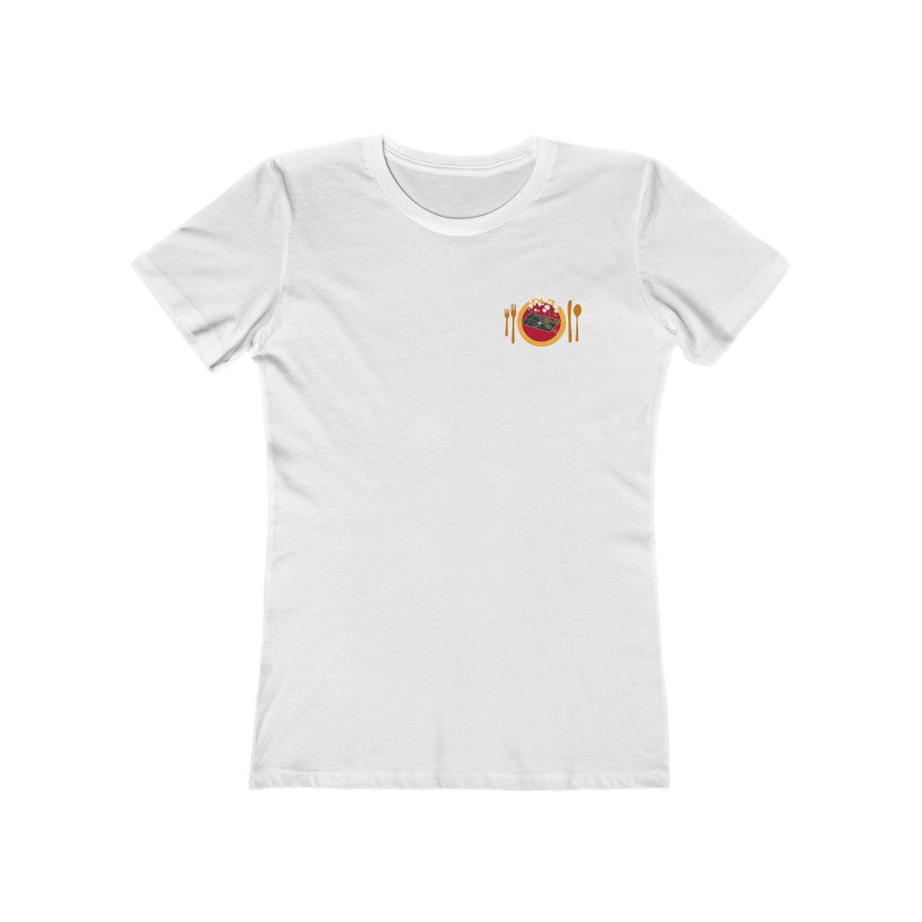 La Hallaca Is My Tradition Women's The Boyfriend Tee