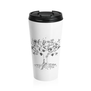 Venezuelan DNA Tree Stainless Steel Travel Mug