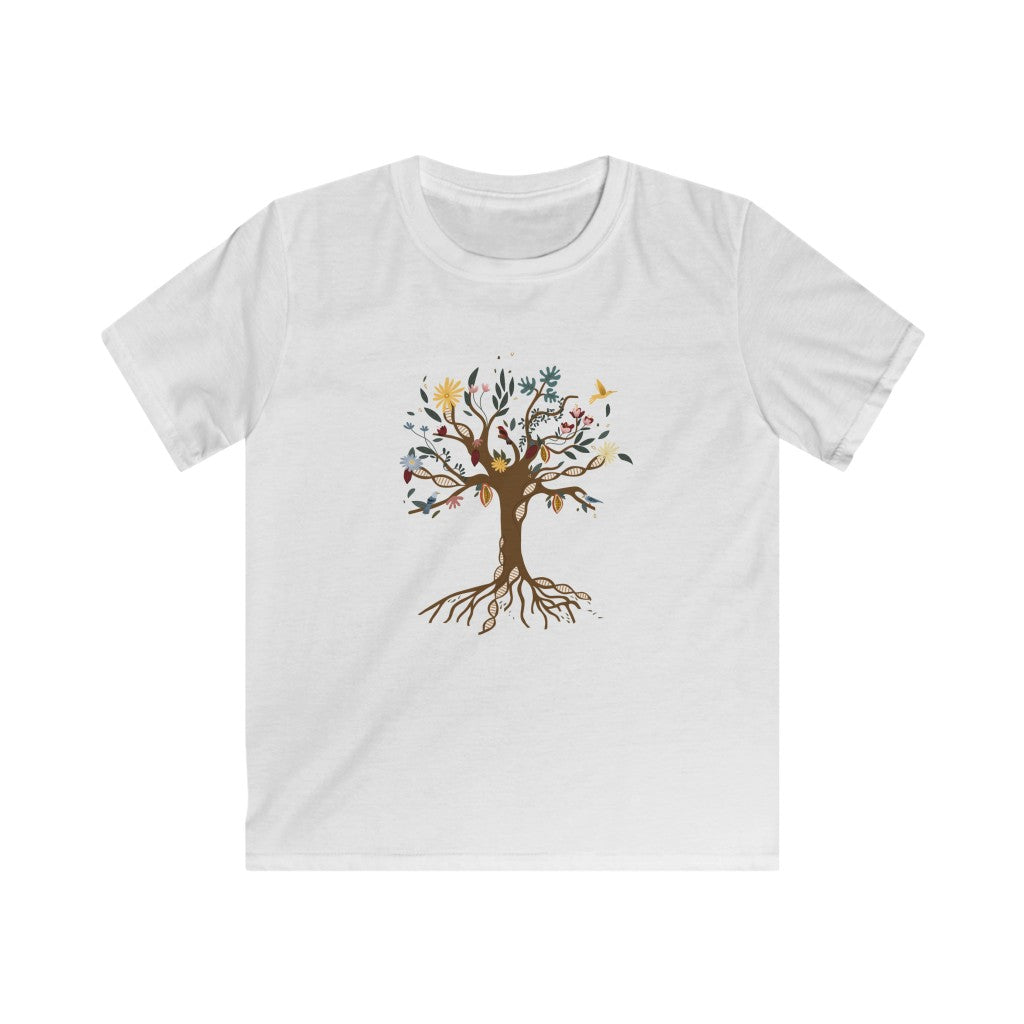 Venezuelan DNA Tree Kids Softstyle Tee