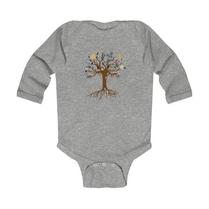 Venzuelan DNA Tree Infant Long Sleeve Bodysuit