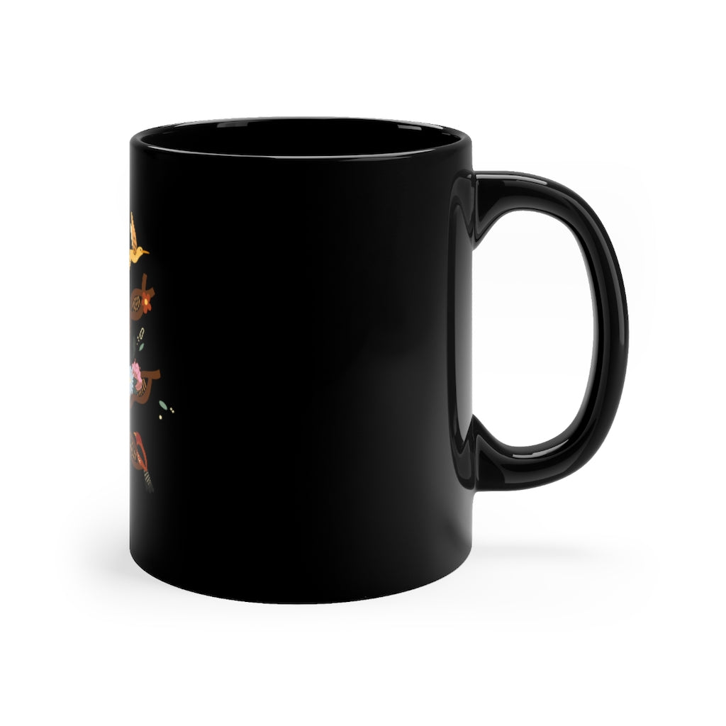 La Arepa Is My Tradition Black mug 11oz
