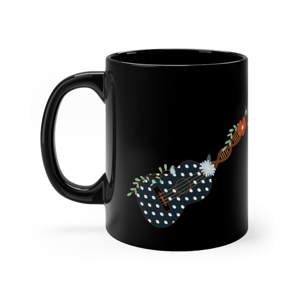 El Cuatro Is My Tradition Black mug 11oz