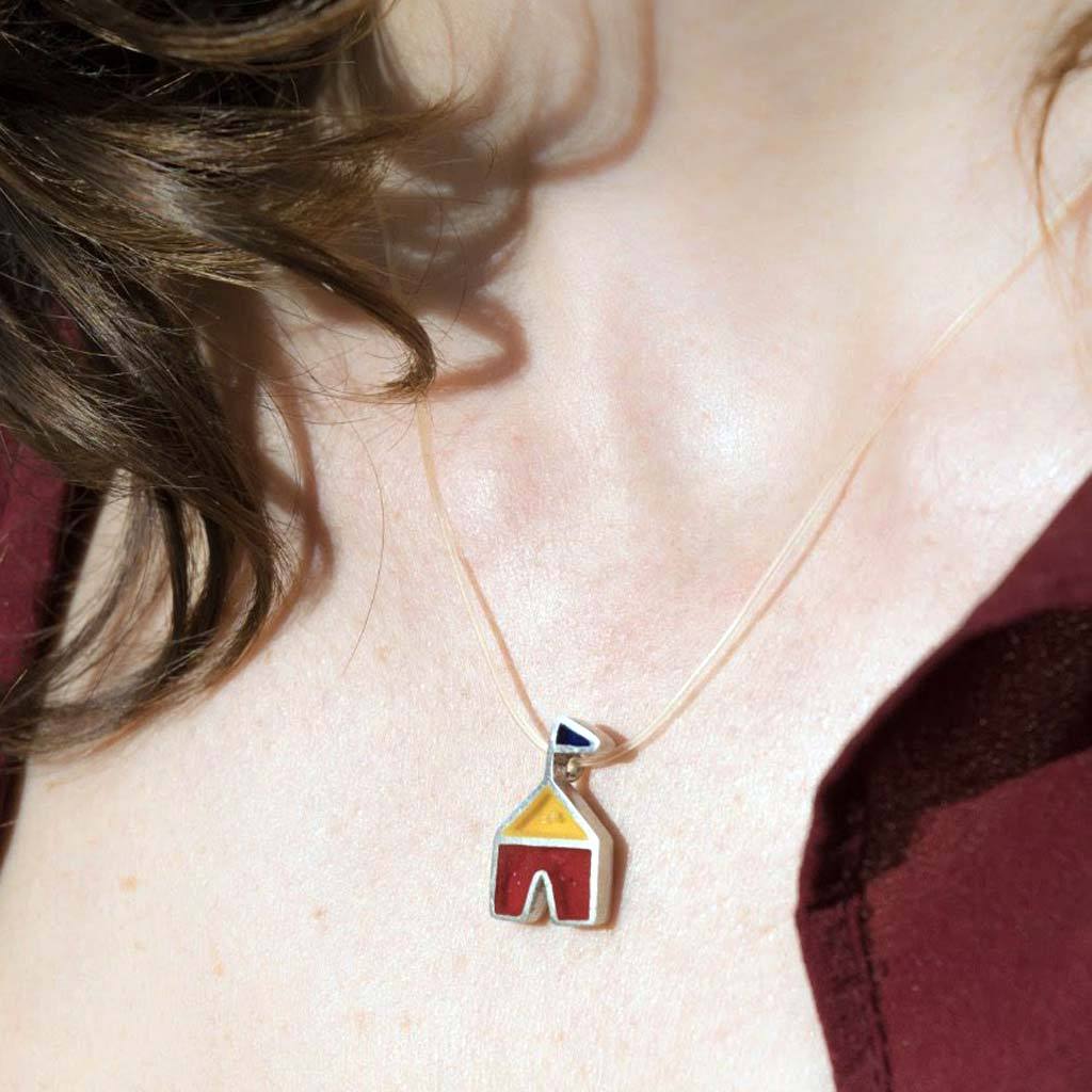 Demasiado Circus Tent necklace
