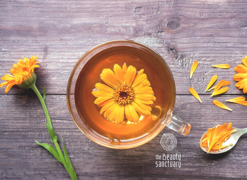 After party calendula detox tea