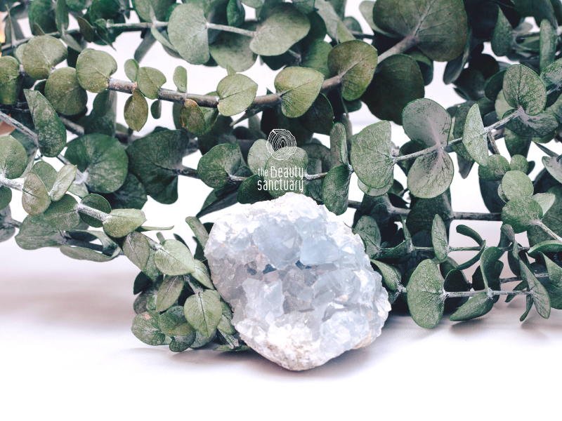 Celestite clusters meaning