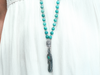 Serenity african amazonite mala necklace