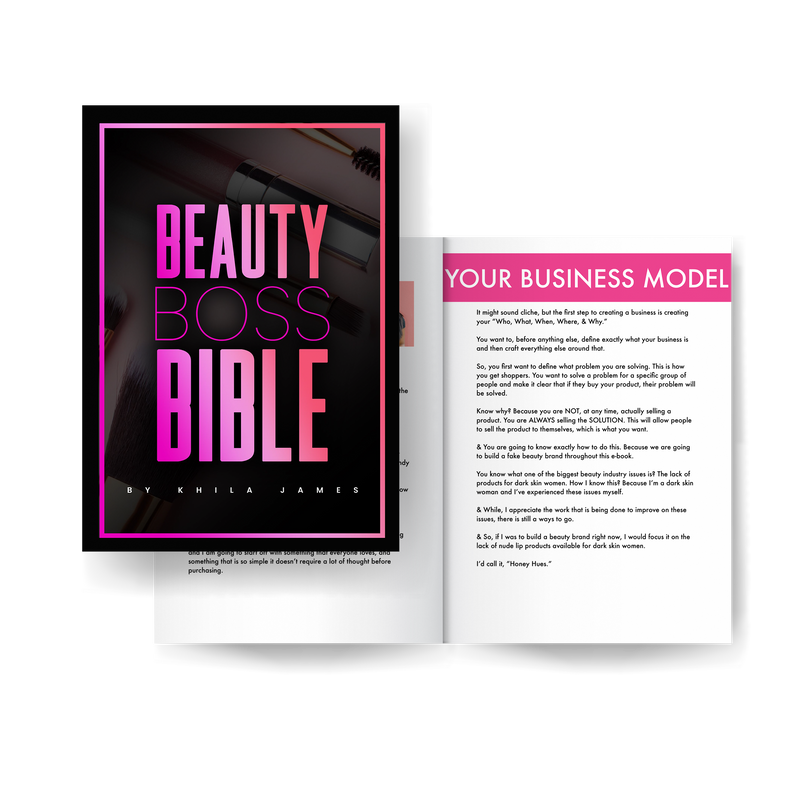 THE BEAUTY BOSS BIBLE: HOW TO BECOME THE ULTIMATE BEAUTY BOSS