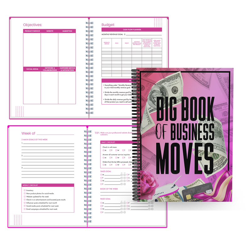 BIG BOOK OF BUSINESS MOVES BUSINESS PLANNER