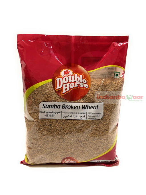 Samba Broken Wheat 500 g - Indian Bazaar - Online Indian Grocery Store