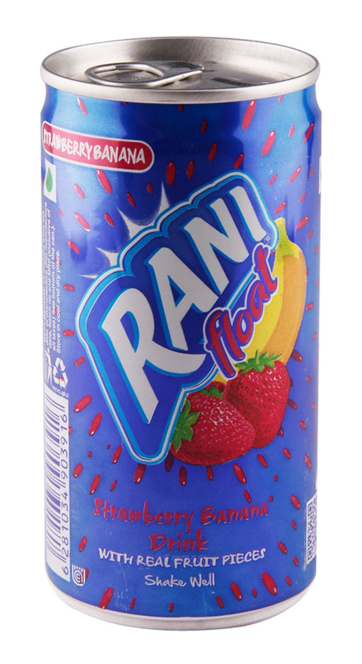 Rani Float Can Strawberry & Banana 240ml - Indian Bazaar - Online Indian Grocery Store