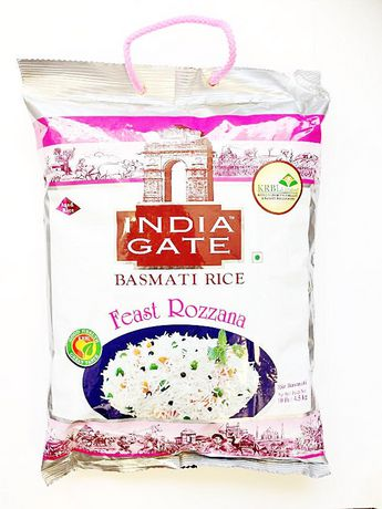 India Gate Rozanna Basmati Rice 10lb - Indian Bazaar - Online Indian Grocery Store