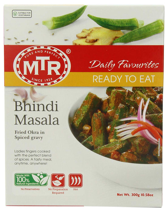 Bhindi Masala Curry 300 g - Indian Bazaar Inc