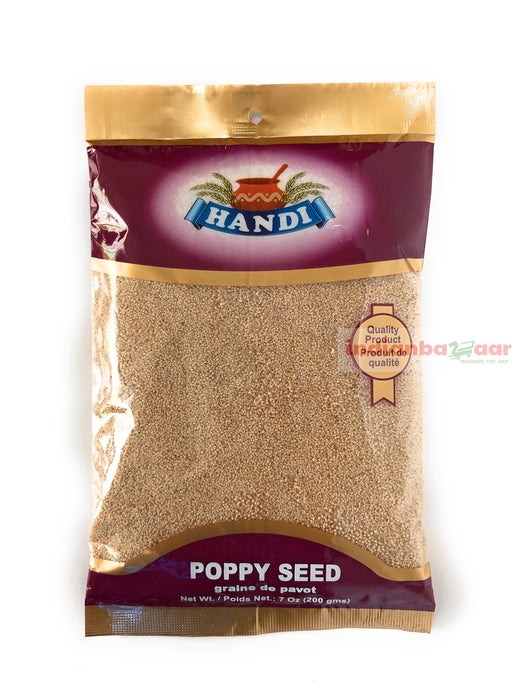 Poppy Seed 200 g - Indian Bazaar - Online Indian Grocery Store