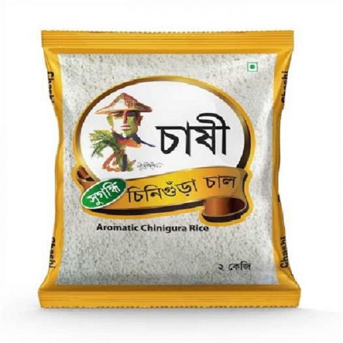 Chashi Chinigora Rice 2 Kg - Indian Bazaar - Online Indian Grocery Store