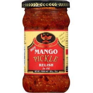 Deep Hot Mango Pickle 10 oz - Indian Bazaar - Online Indian Grocery Store