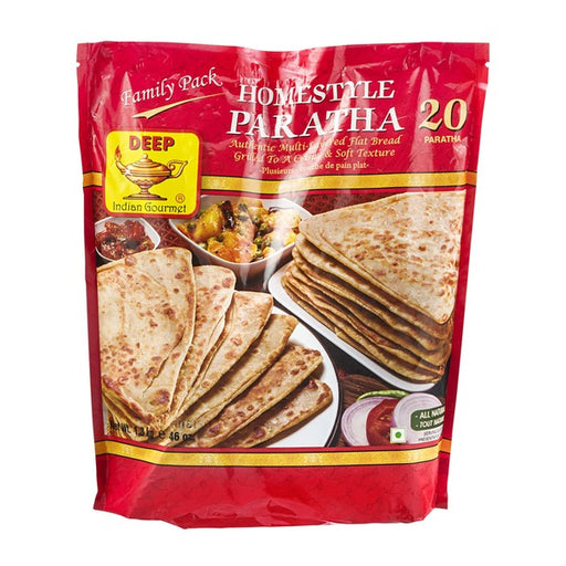 Deep Fmly Pk Paratha 20pc - Indian Bazaar - Online Indian Grocery Store