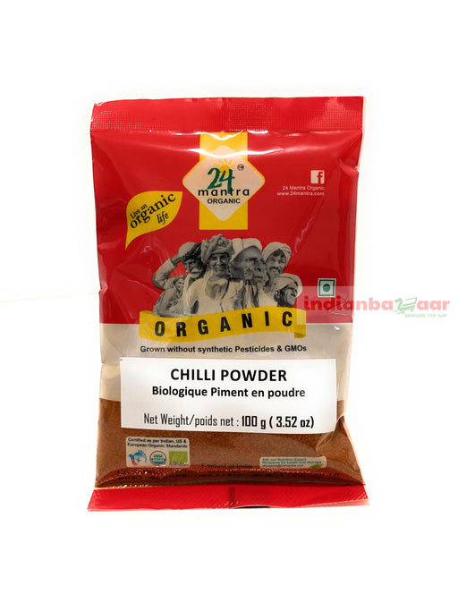 Chilli Powder (Organic) 100 g - Indian Bazaar - Online Indian Grocery Store