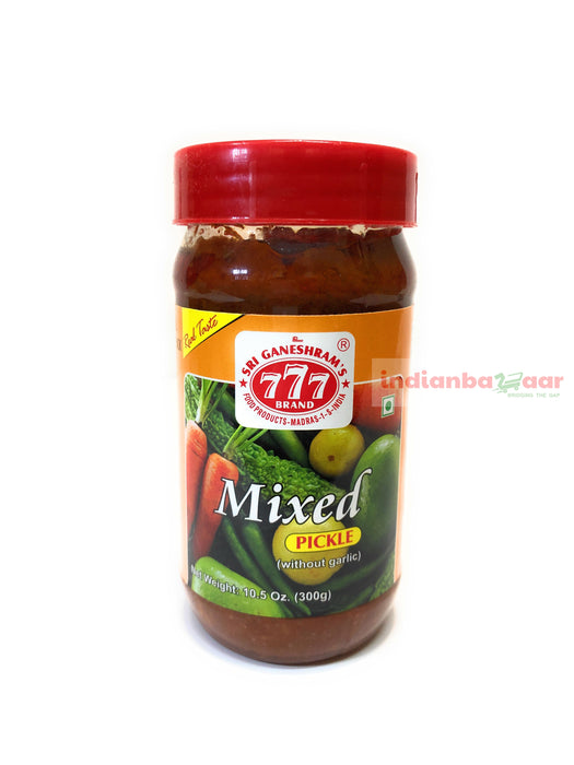 Mixed Veg Pickle 300 g B1G1 - Indian Bazaar - Online Indian Grocery Store