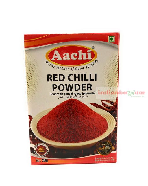 Aachi Chilli Powder 200 g - Indian Bazaar - Online Indian Grocery Store