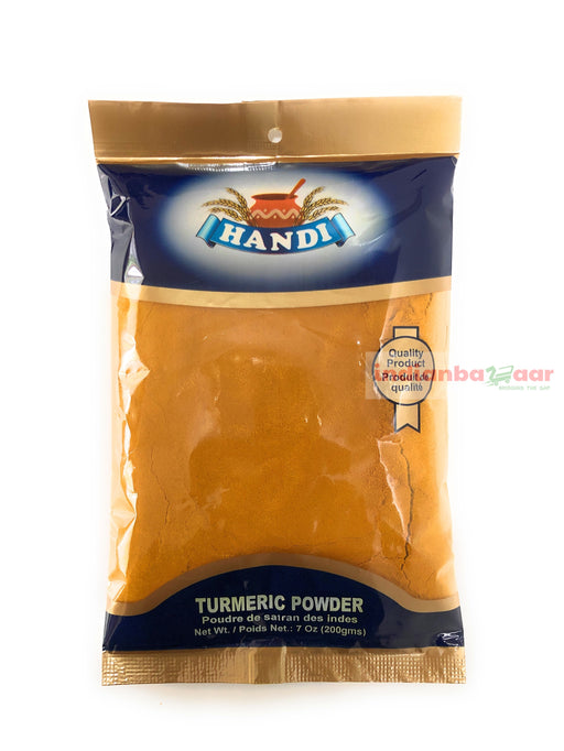 Turmeric Powder (Haldi) 200 g - Indian Bazaar - Online Indian Grocery Store