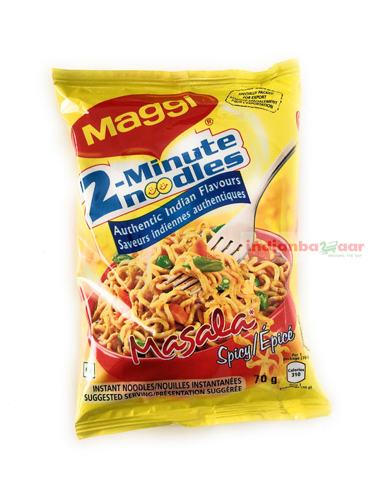 Maggi Noodles (Masala) 70 g - Indian Bazaar - Online Indian Grocery Store