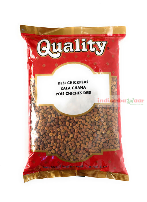 Kala Chana Dal (Brown Chick Peas) 4 lbs - Indian Bazaar - Online Indian Grocery Store
