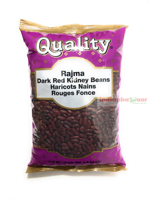 Red Kidney Beans (Dark) 4 lb - Indian Bazaar - Online Indian Grocery Store