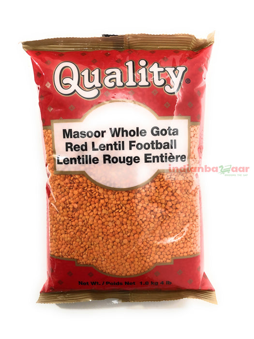 Masoor Dal (Whole) 4 lb - Indian Bazaar - Online Indian Grocery Store