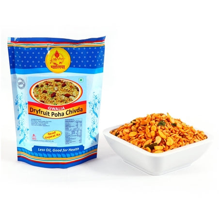 Gwalia Dry Fruit Poha CW 170g - Indian Bazaar - Online Indian Grocery Store