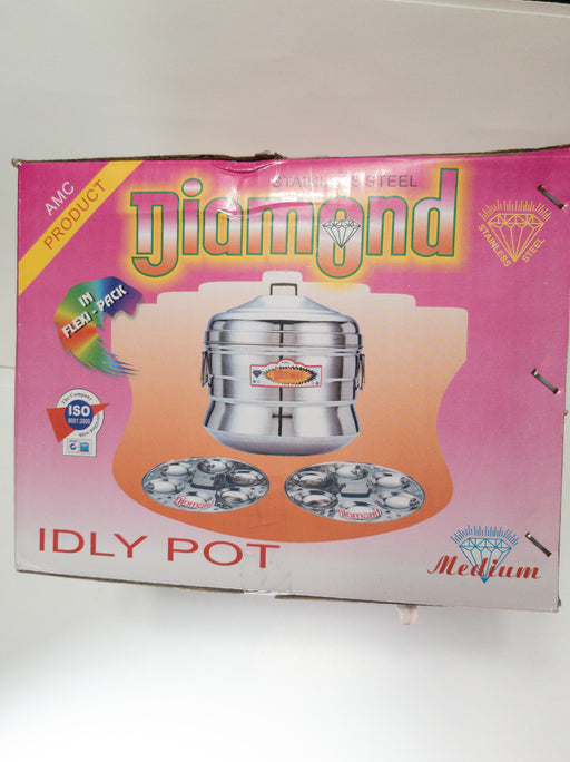12 Idli Pot/Maker 1 pcs - Indian Bazaar - Online Indian Grocery Store