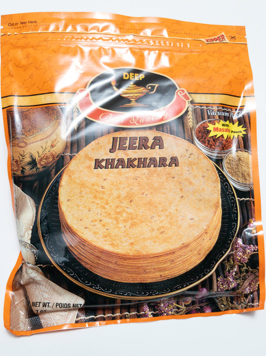 Jeera Khakhara 200 g - Indian Bazaar - Online Indian Grocery Store