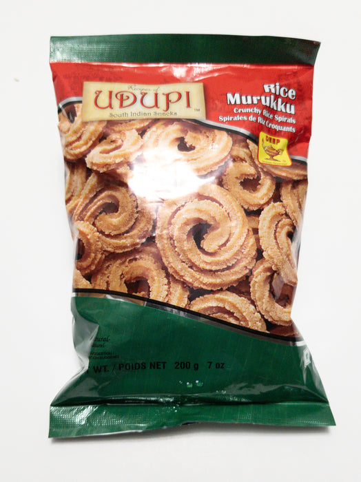 Udupi's Rice Murukku 200g - Indian Bazaar - Online Indian Grocery Store