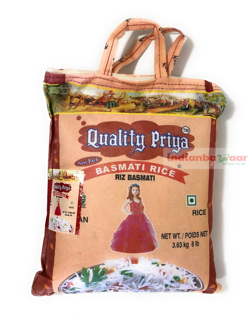 Basmati Rice 8 lb - Indian Bazaar - Online Indian Grocery Store