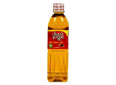Radhuni Mustard Oil 500ml - Indian Bazaar - Online Indian Grocery Store