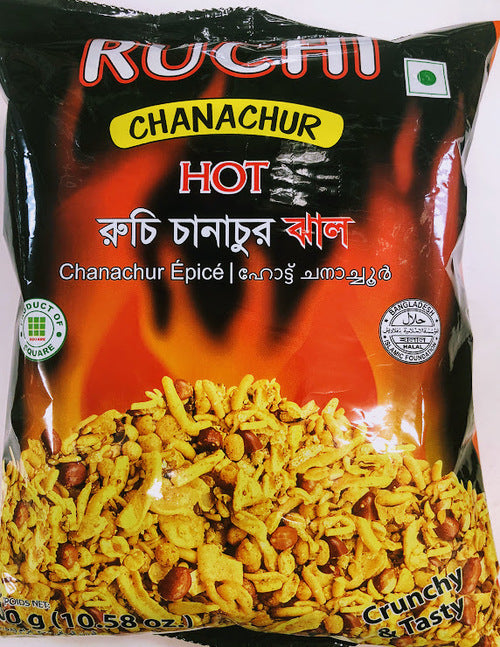 Chanachur Hot (Ruchi) 300g - Indian Bazaar - Online Indian Grocery Store