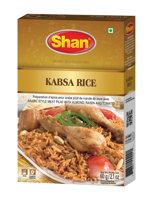 Shan Kabsa Rice 60g - Indian Bazaar - Online Indian Grocery Store