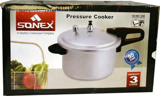 Sonex Pressure Cooker 3ltr 1pc - Indian Bazaar - Online Indian Grocery Store