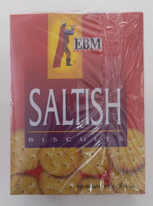 EBM Saltish Biscuits 112g - Indian Bazaar - Online Indian Grocery Store