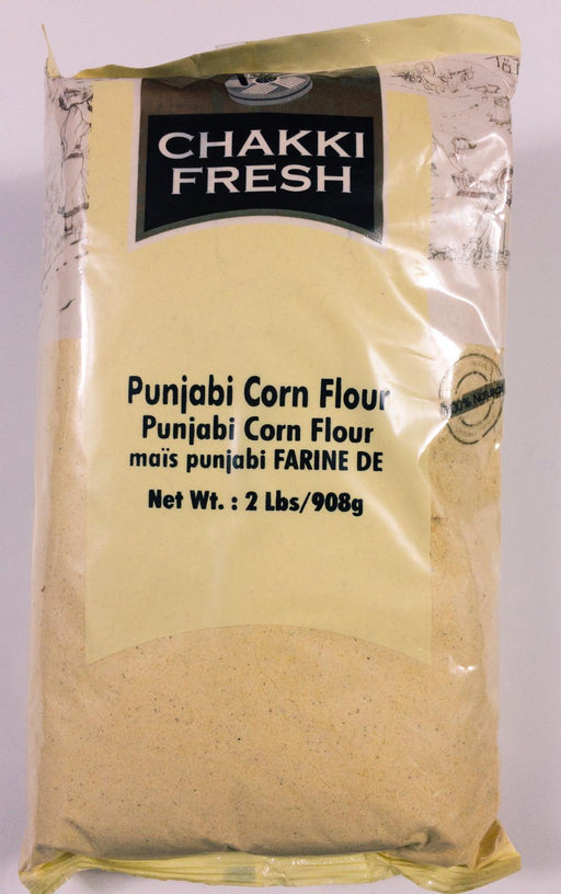 Chakki Fresh Punjabi Corn Flour 2lb - Indian Bazaar - Online Indian Grocery Store
