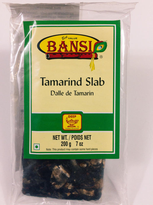 Bansi Tamarind Slab 7oz - Indian Bazaar - Online Indian Grocery Store