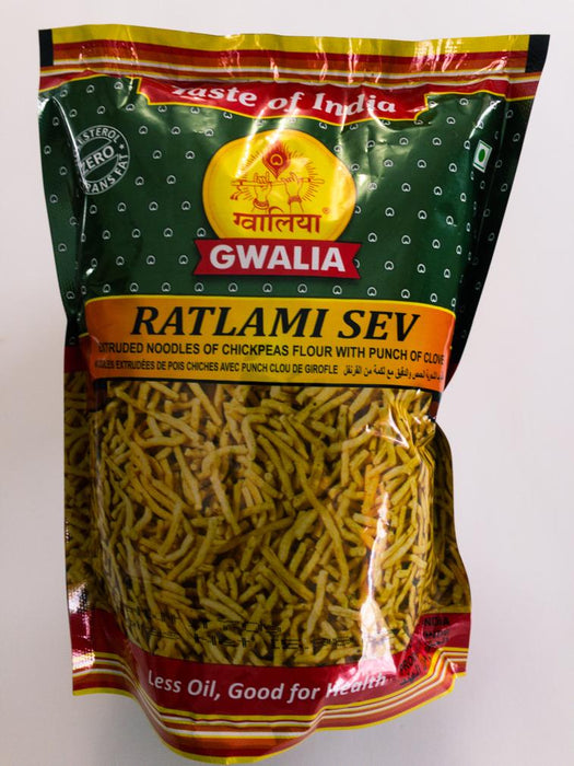 Gwalia Ratlami Sev 170g - Indian Bazaar - Online Indian Grocery Store