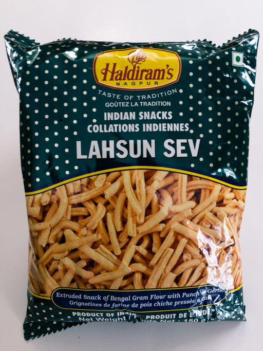 Haldiram's Lahsun Sev 150g - Indian Bazaar - Online Indian Grocery Store