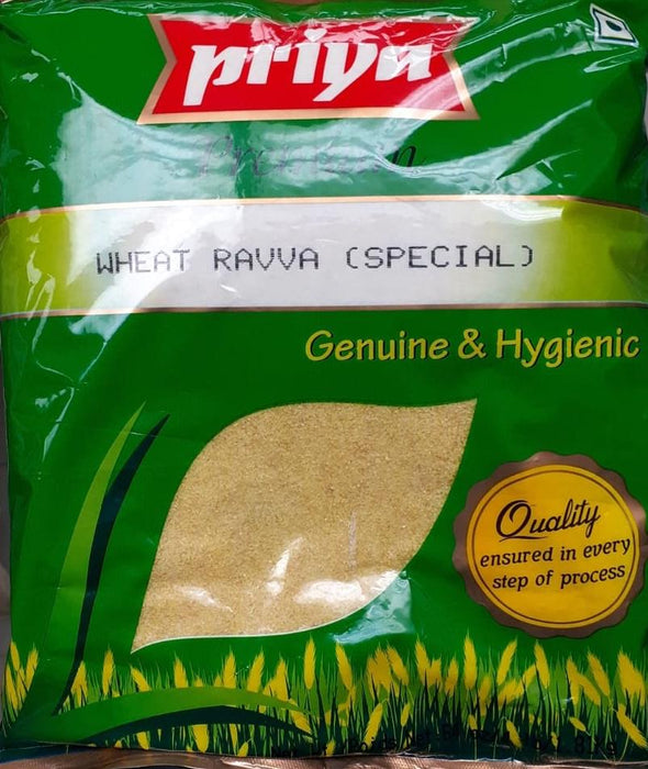 Priya Wheat Rava 4lb - Indian Bazaar - Online Indian Grocery Store