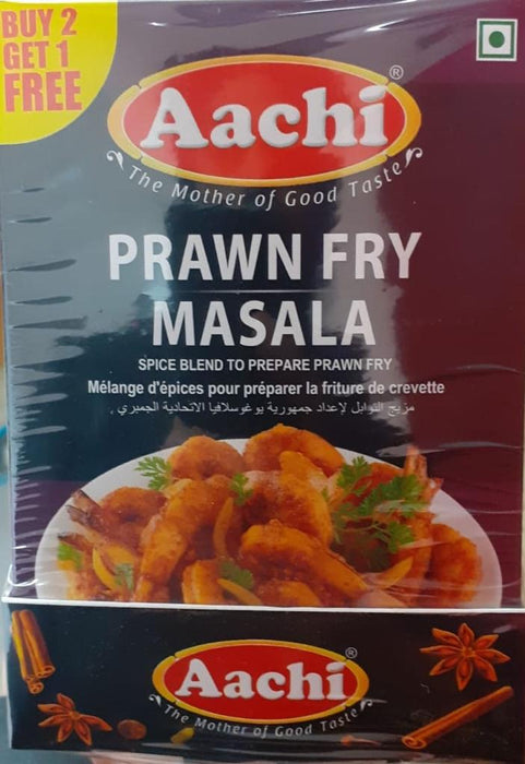 Aachi Prawn Fry Masala 50g B2G1 - Indian Bazaar - Online Indian Grocery Store
