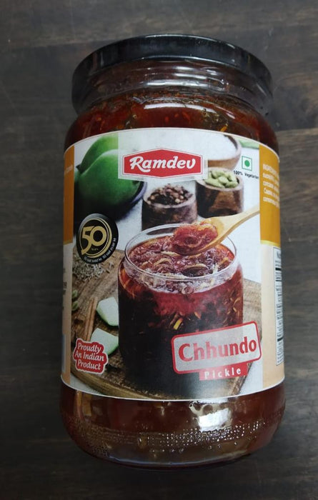 Ramdev Chhundo Pickle 720g - Indian Bazaar - Online Indian Grocery Store