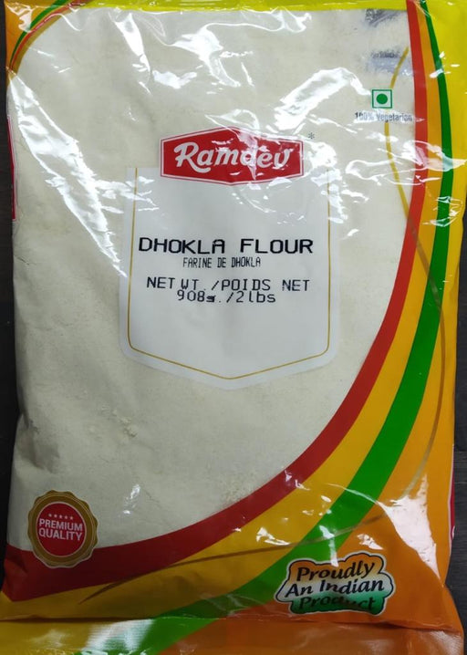 Ramdev Dhokla Flour 908g - Indian Bazaar - Online Indian Grocery Store