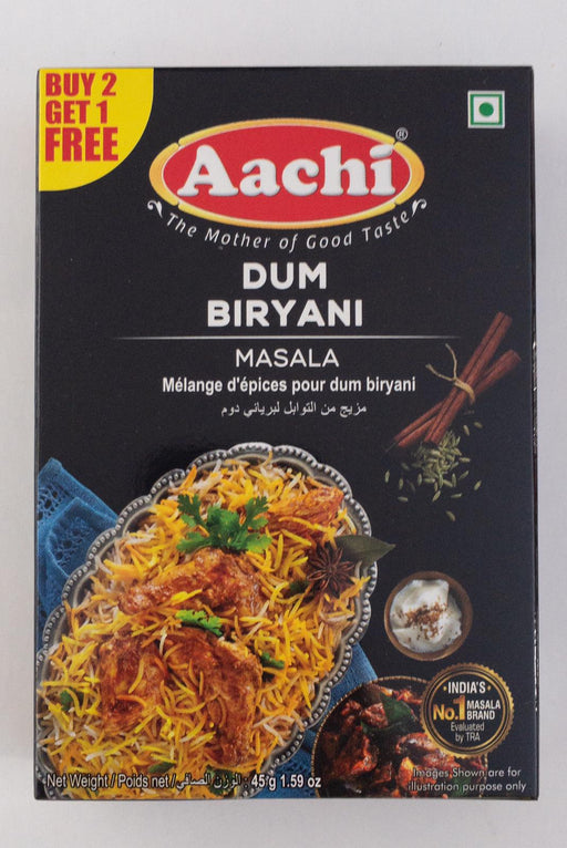 Aachi Dum Biryani 45g B1G1 - Indian Bazaar - Online Indian Grocery Store