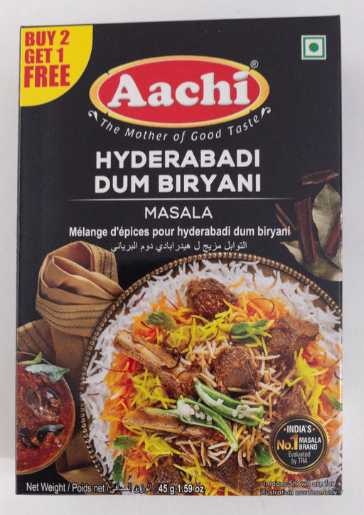 Aachi Hyd Dum Biryani 45g B1G1 - Indian Bazaar - Online Indian Grocery Store