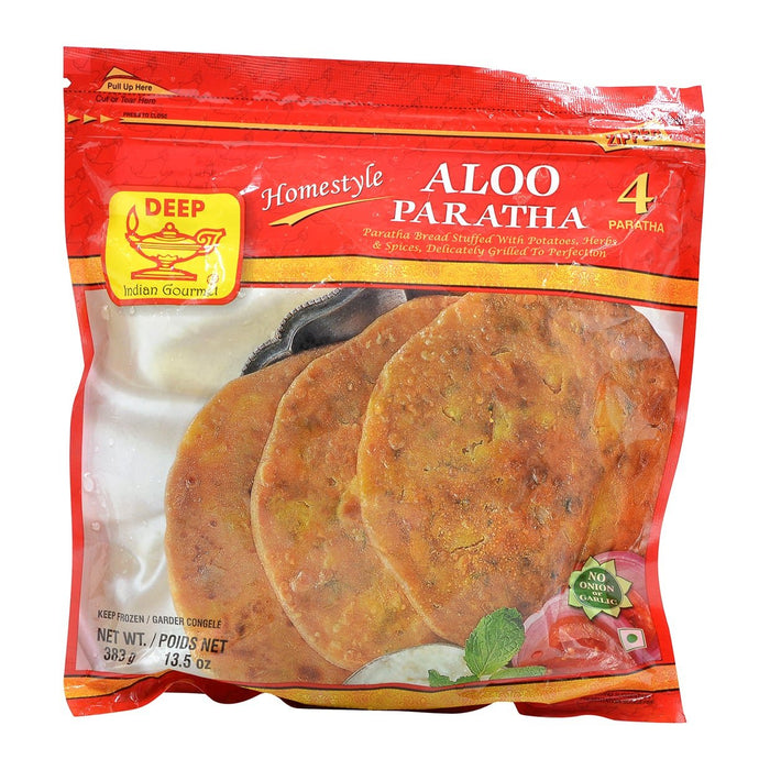 Deep Aloo Paratha 4pc - Indian Bazaar - Online Indian Grocery Store