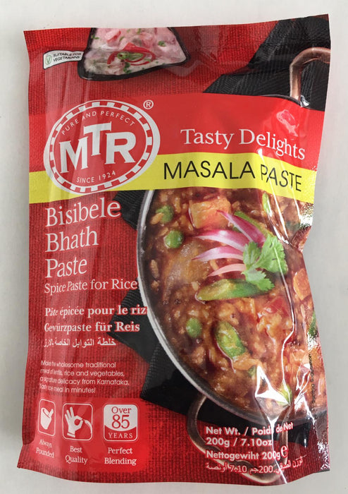 MTR Bisibelebath Masala Paste 200g - Indian Bazaar - Online Indian Grocery Store